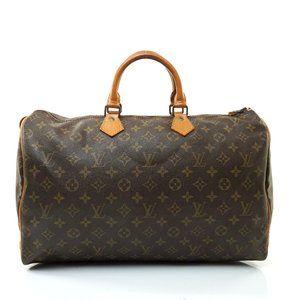 Auth Louis Vuitton Speedy 40 Hand Bag #7912L33